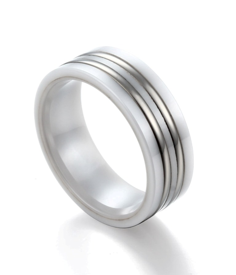 Ceramic_rings__TR1766_1__81396_zoom 60 Unbelievable Ceramic Wedding Bands for Him & Her