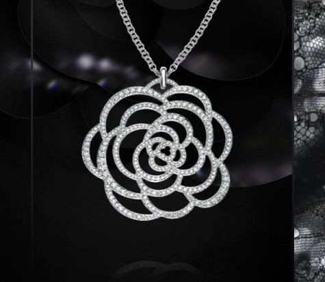 Chanel-Diamond-Necklaces-for-Women_111-475x412 How To Choose The Right Necklace For Your Dress?