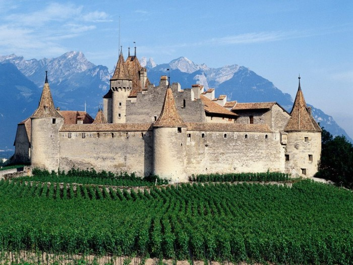 Chateau-dAigle-Switzerland Top 10 Best Quality of Life Countries