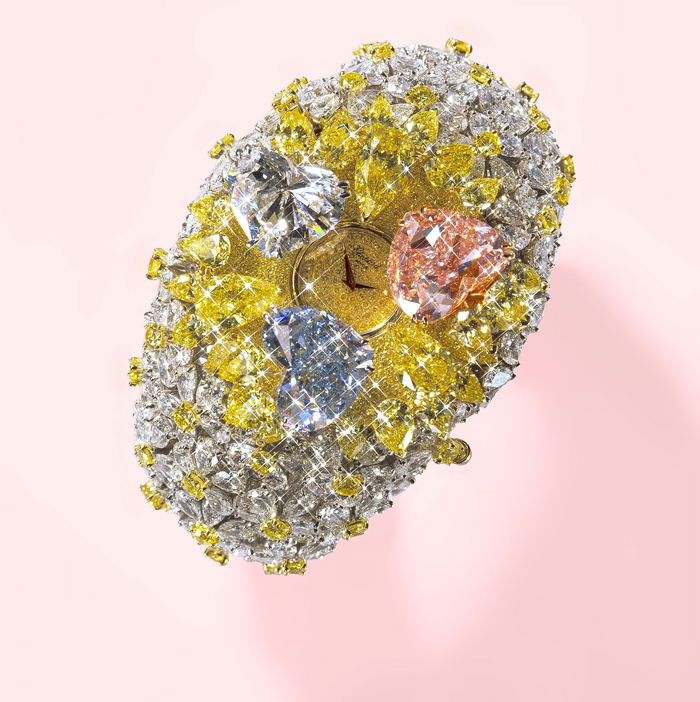 Chopard-201-Carat 65 Most Expensive Diamond Watches in the World