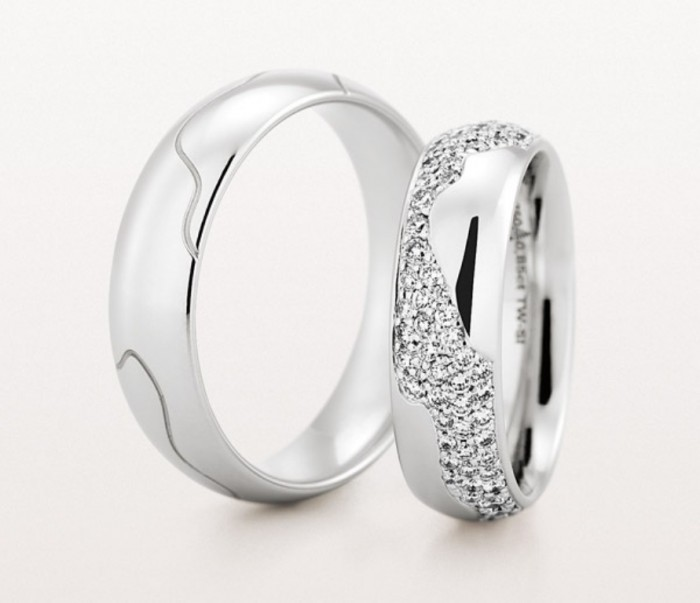 Christian_Bauer_bands 40 Unique & Unusual Wedding Rings for Him & Her