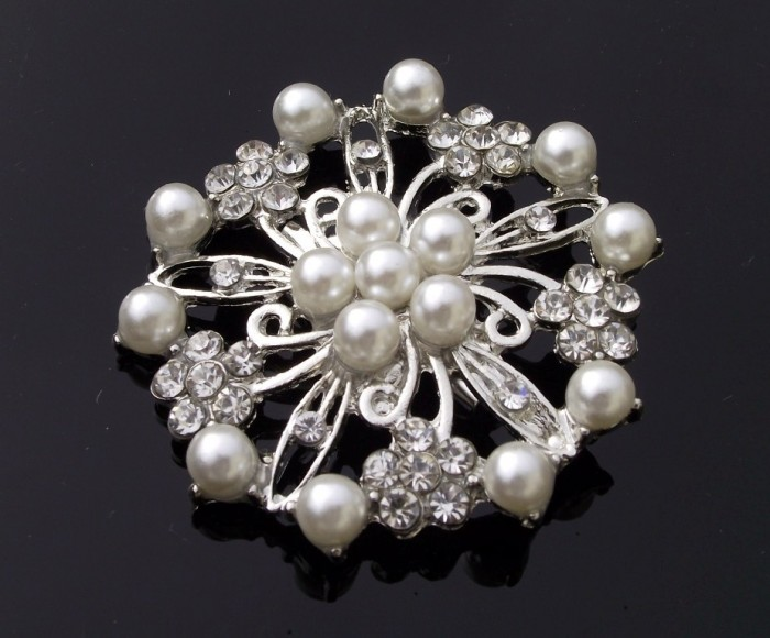 DSCF2796 50 Wonderful & Fascinating Pearl Brooches