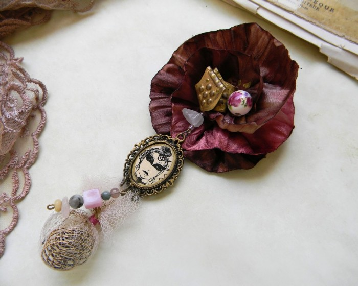 DSCN8815 45 Handmade Brooches to Start Making Yours on Your Own