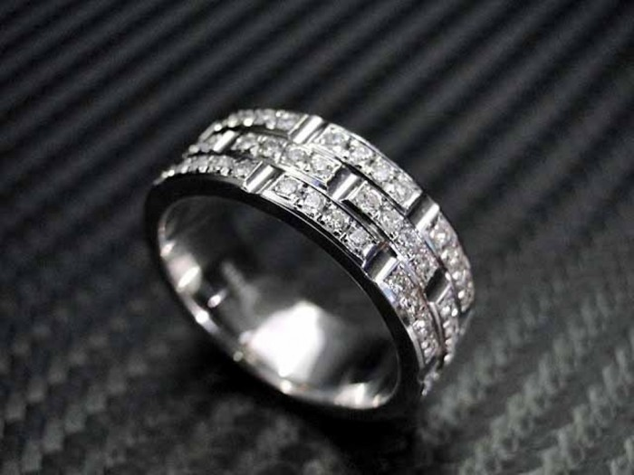 Diamond-Wedding-Bands-For-Men 60 Breathtaking & Marvelous Diamond Wedding bands for Him & Her