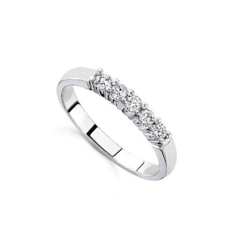 Diamond-Wedding-Bands-For-Women-In-White-Gold 60 Breathtaking & Marvelous Diamond Wedding bands for Him & Her