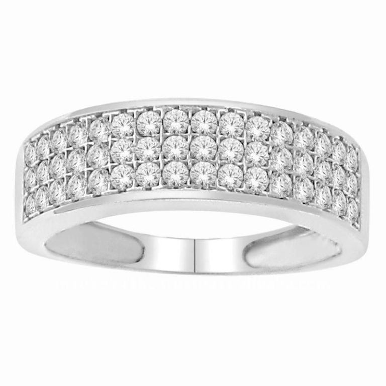 Diamond_Wedding_Band_For_Gents 60 Breathtaking & Marvelous Diamond Wedding bands for Him & Her