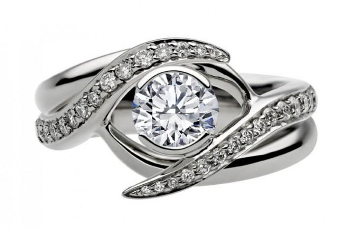 ES1139BRBS-1 35 Dazzling & Catchy Bridal Wedding Ring Sets