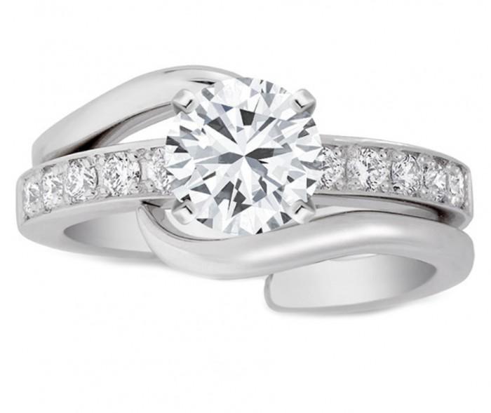 ES933-1 35 Dazzling & Catchy Bridal Wedding Ring Sets