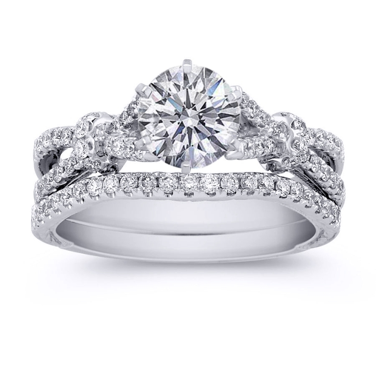 ES951BRBS-1 35 Dazzling & Catchy Bridal Wedding Ring Sets