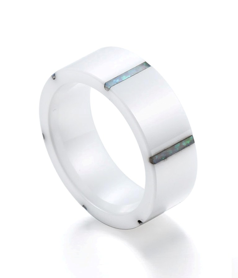 FB1799_ceramic_rings_1__01912_zoom 60 Unbelievable Ceramic Wedding Bands for Him & Her