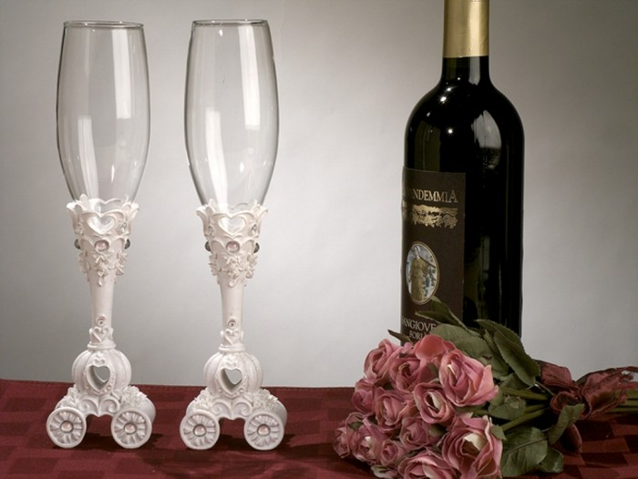 Fairytale-Theme-Toasting-Glasses_4055_r 35 Best Affordable & Catchy Bachelorette Party Gift Ideas