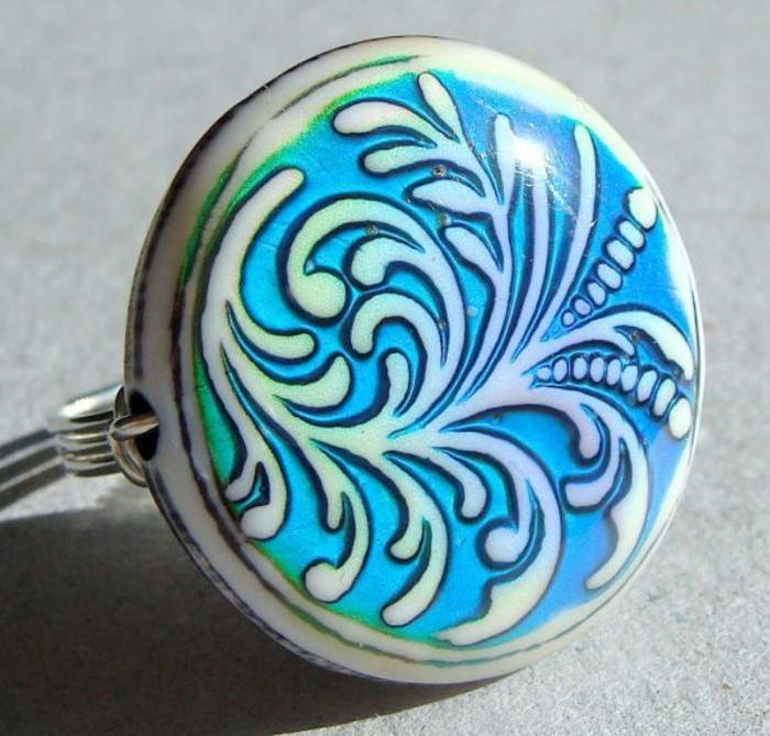 Fern-Mood-Ring Top 30 Unique Sterling Silver Mood Rings that Incredibly Detect Your Mood