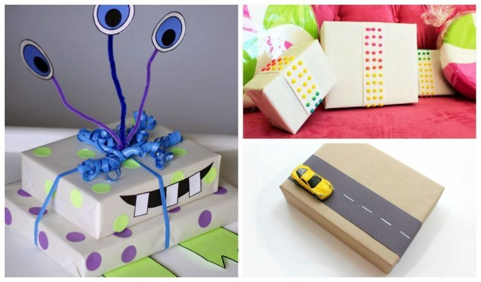 Fotor1224204635 40 Creative & Unusual Gift Wrapping Ideas
