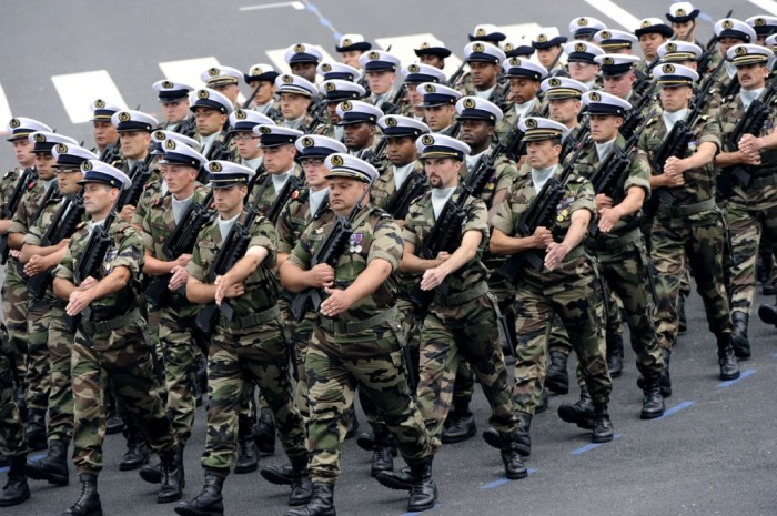 France-AFP_Getty-512347611 Top 15 Highest Spending Governments on Their Military in the World