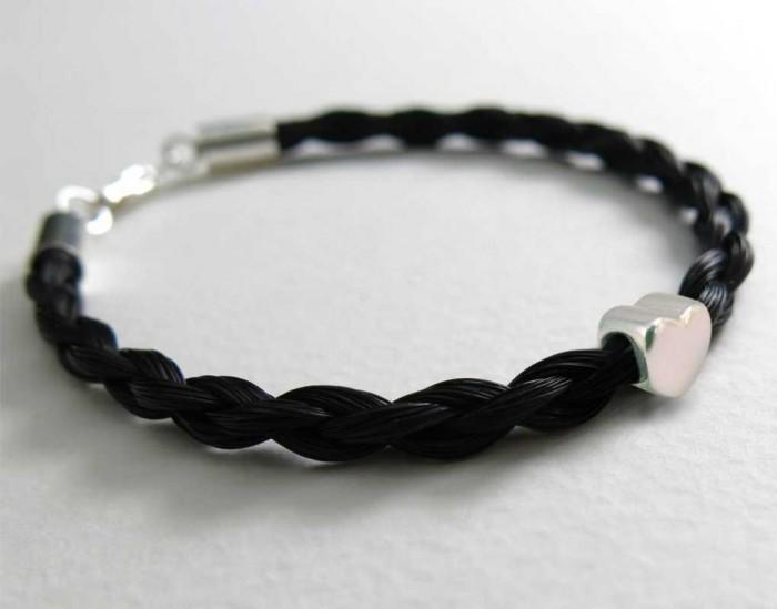 Gemosi-Amor-horse-hair-bracelet 45 Elegant & Breathtaking Horse Hair Bracelets