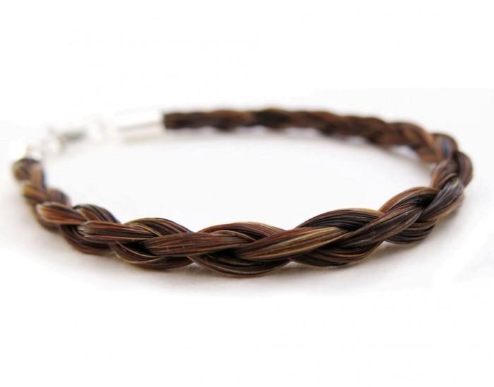 Gemosi-Spirit-horse-hair-bracelet-chestnut 45 Elegant & Breathtaking Horse Hair Bracelets