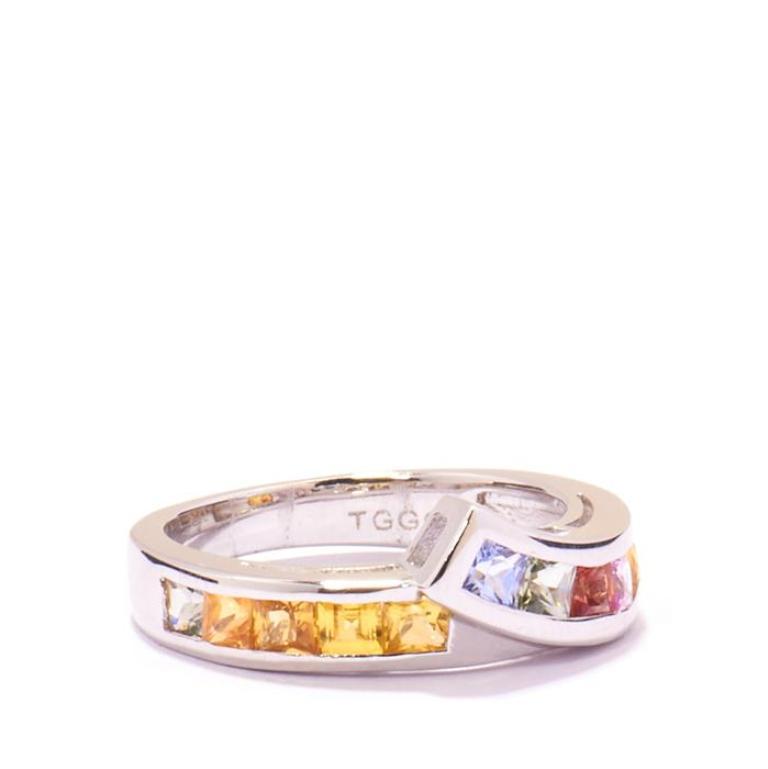 HMDS341 40 Elegant Orange Sapphire Rings for Different Occasions