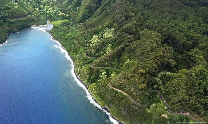 Hana-Highway4 55 Most Fascinating & Weird Roads Like These Before?