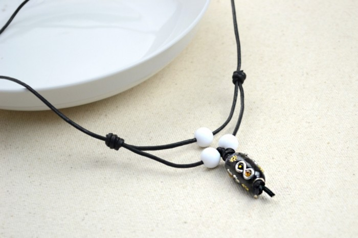 Hand-made-jewellery-plain-leather-necklaces-for-men 40 Elegant & Catchy Handmade Men's Jewelry