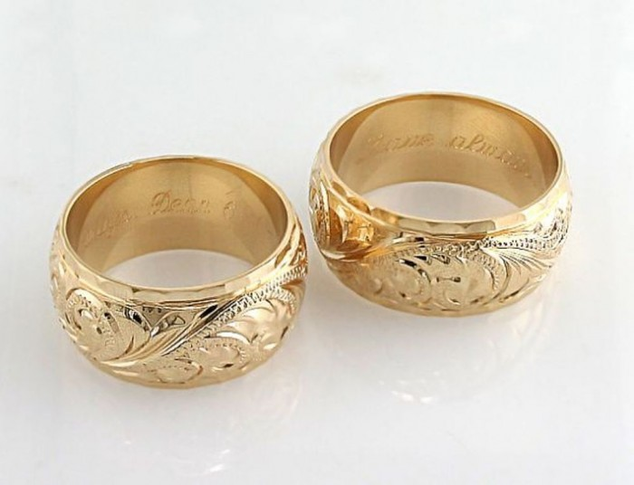 Hawaiian_Heirloom_Rings Top 40 Gorgeous Hawaiian Wedding Rings and Bands