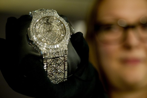 Hublot. 65 Most Expensive Diamond Watches in the World