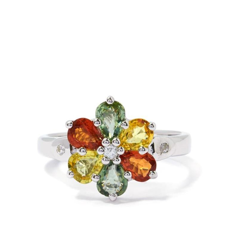 IEDS39 40 Elegant Orange Sapphire Rings for Different Occasions
