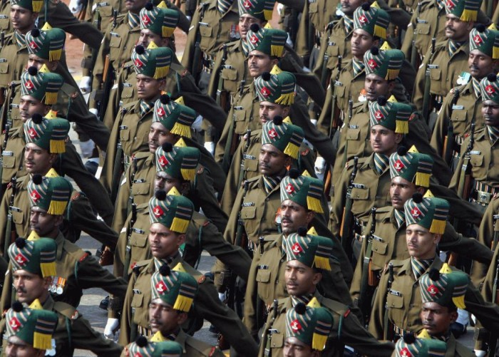 Indian_Army-Madras_regiment Top 15 Highest Spending Governments on Their Military in the World