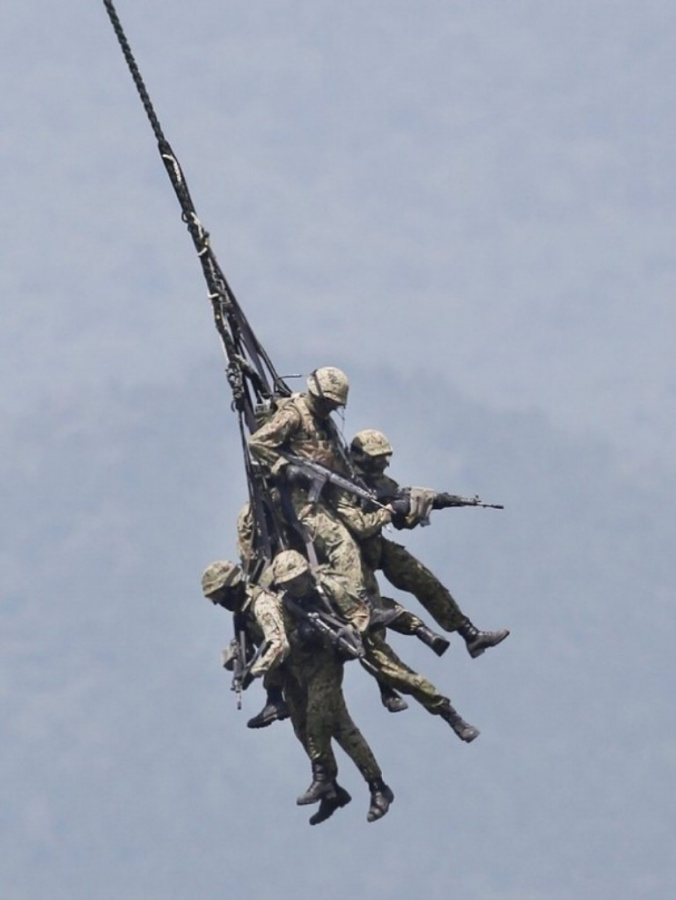 JapanMilitaryExercise_t607 Top 15 Highest Spending Governments on Their Military in the World