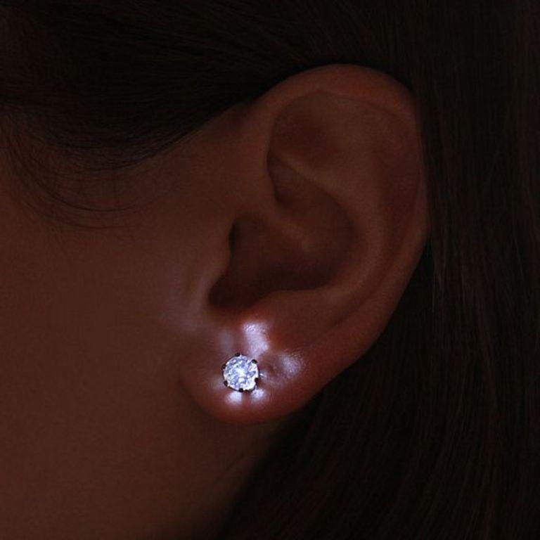 LEDearrings1 45 Unusual and Non-traditional Earrings