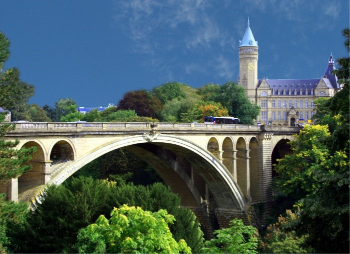 Luxembourg_Pont_Adolphe Top 25 Most Democratic Countries in the World