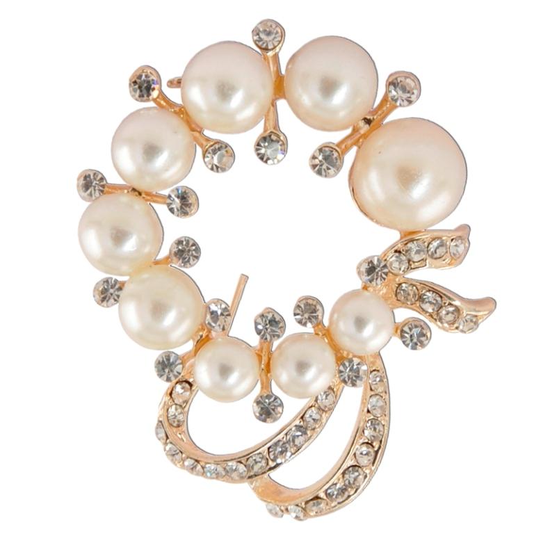MF_2038-01 50 Wonderful & Fascinating Pearl Brooches