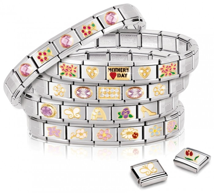 MOTHERS_DAY_group2 25 Amazing & Catchy Italian Link Charm Bracelets