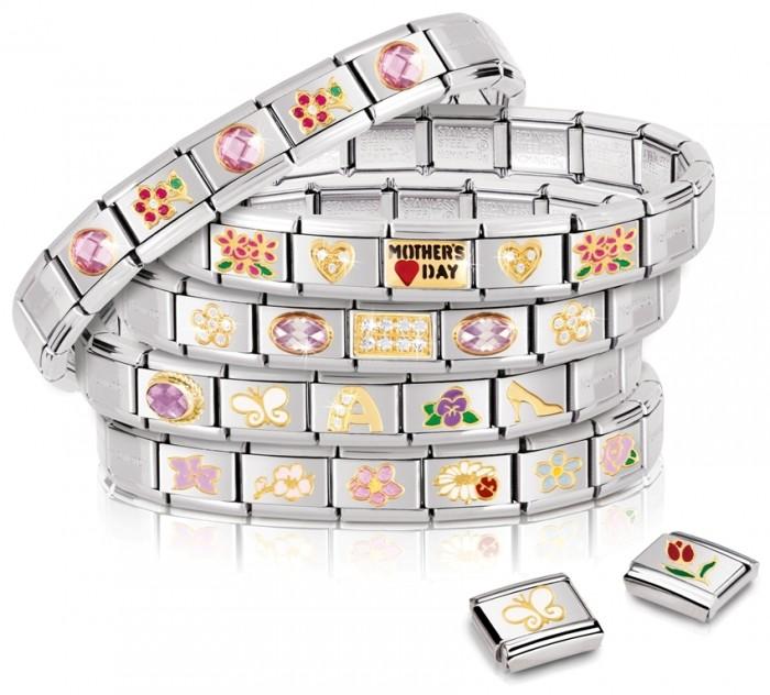 MOTHERS_DAY_group2 25 Amazing & Catchy Italian Link Charm Bracelets