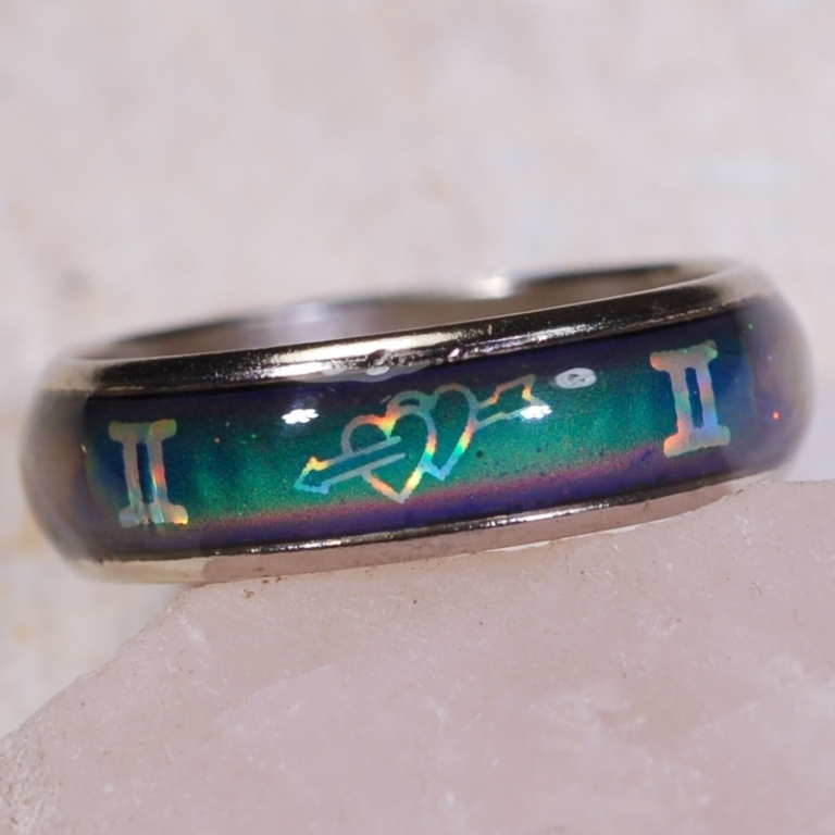 MR157 Top 30 Unique Sterling Silver Mood Rings that Incredibly Detect Your Mood