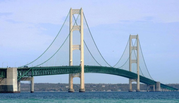 Mackinac-Bridge The World's 15 Scariest Bridges that Will Freeze Your Heart