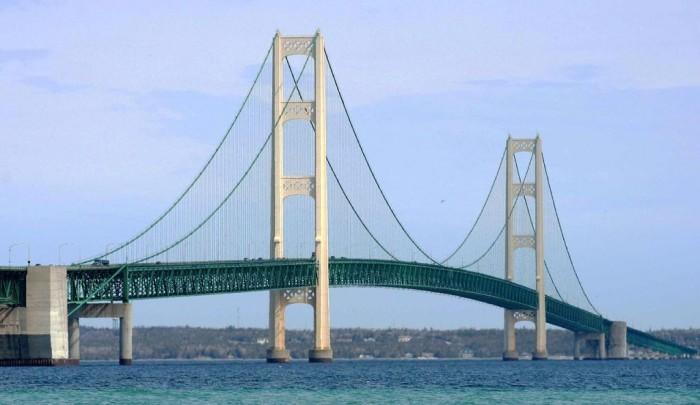 Mackinac-Bridge The World's 15 Scariest Bridges that Will Freeze Your Heart