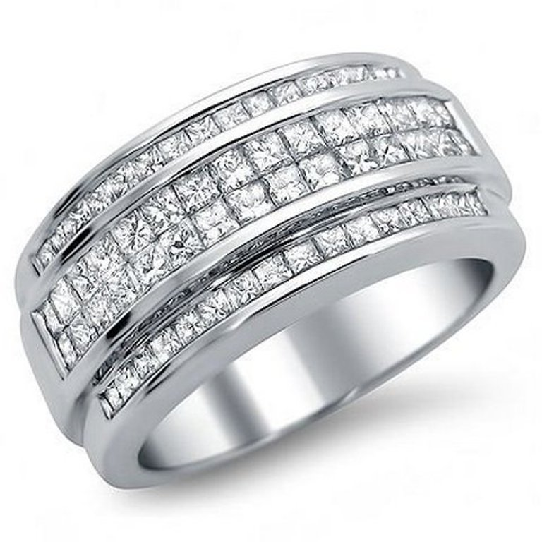 Mens-Diamond-Wedding-Bands-Cheap 60 Breathtaking & Marvelous Diamond Wedding bands for Him & Her