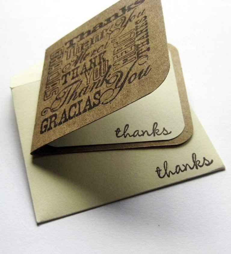 Mini-Thank-You-Note-Cards 30 Amazing & Affordable Thank You Gift Ideas