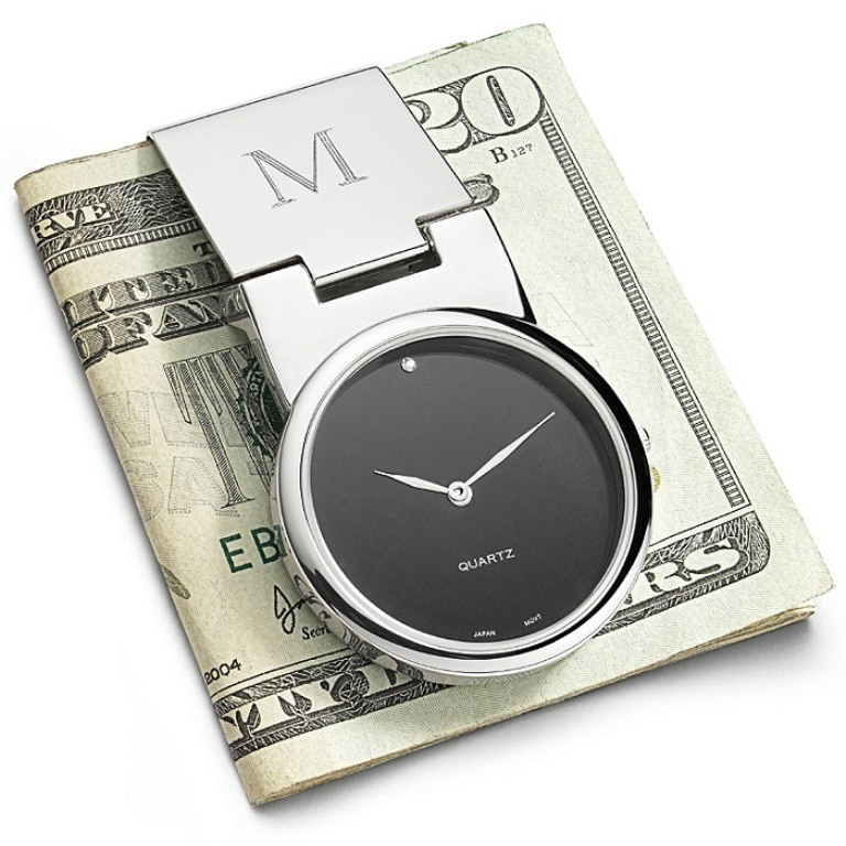 Modern-Money-Clip-Watch Best 35 Money Clips for Men