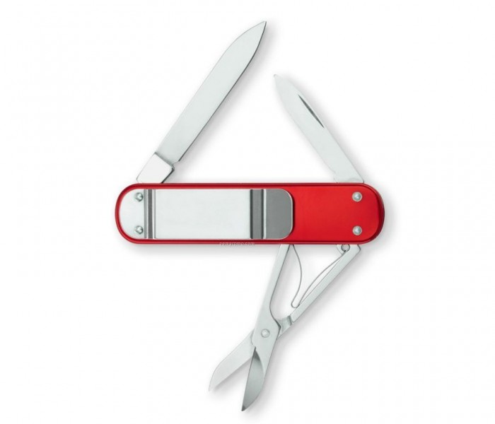 Money-Clip-Swiss-Army-Knife-Red-Alox_55525829 Best 35 Money Clips for Men