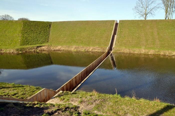 Moses_Bridge_Sunken_Bridge_The_Netherlands_9 Have You Ever Seen Breathtaking & Weird Bridges Like These Before?