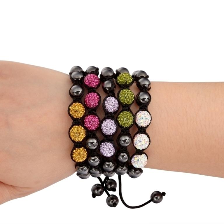 Multi_Color_Handmade_Adjustable_Bead_Bracelet__59125_zoom 65 Fabulous & Stunning Handmade Beaded Gemstone Jewelries