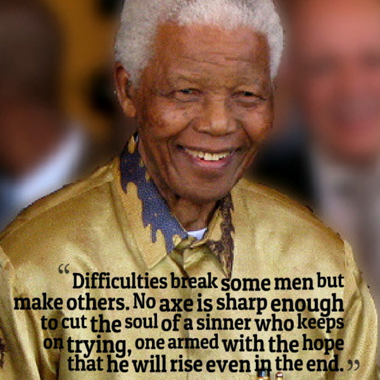 "Nelson-Mandela-Quote. The Anti-apartheid Icon "" Nelson Mandela "" Who Restored His People's Pride"