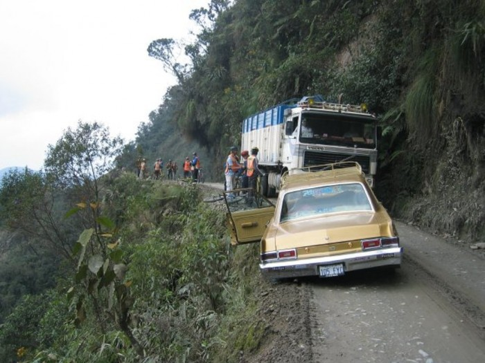 North-Yungas-Road-24 55 Most Fascinating & Weird Roads Like These Before?