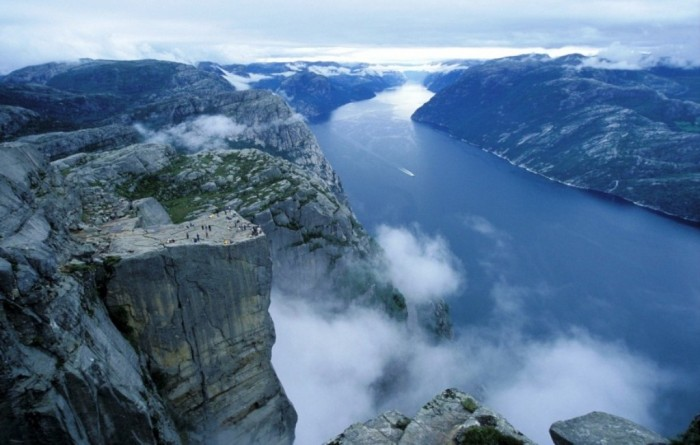 Norway-Preikestolen-Top-View-photos-Photos-Overview-About-Norway-Tourism-Travel-Places Top 25 Most Democratic Countries in the World
