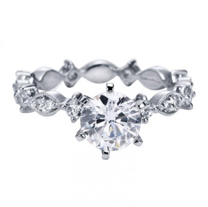 PRENG0298 50 Unique Vintage Classic Diamond Engagement Rings