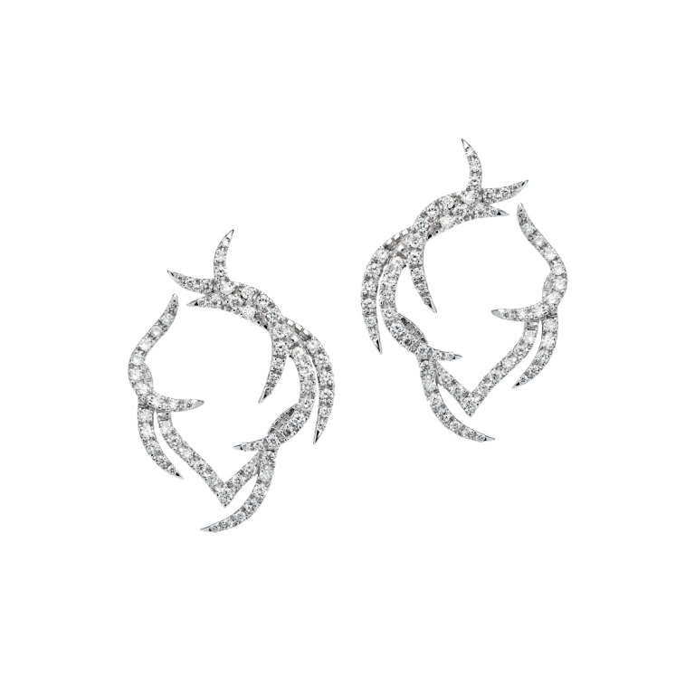 Paradis-Plume-Hoop-Earrings-in-18ct-white-gold-and-diamonds21 45 Unusual and Non-traditional Earrings