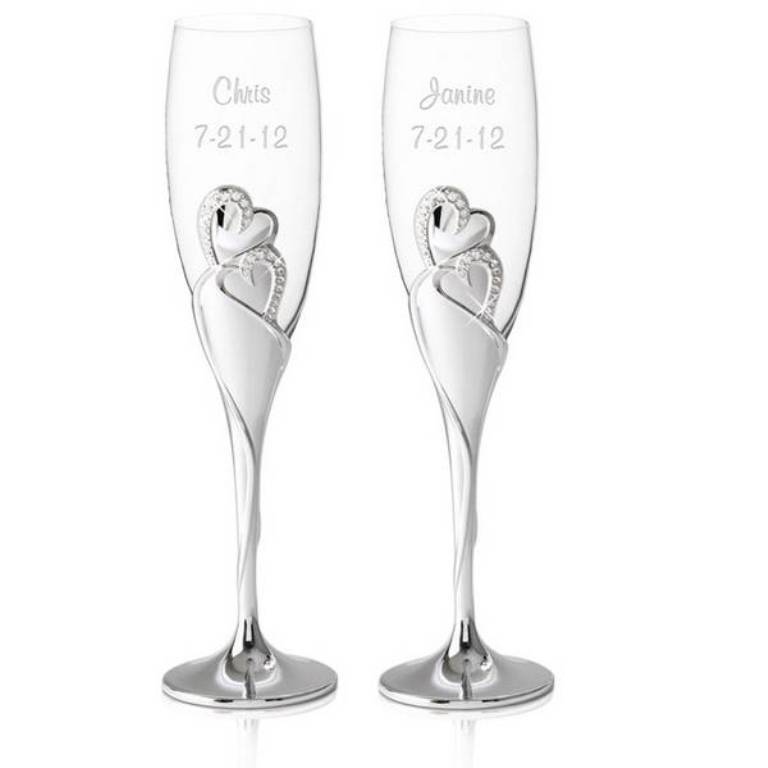 Personalized-Wedding-Romance-Champagne-Toasting-Flutes-9038_li 35 Best Affordable & Catchy Bachelorette Party Gift Ideas