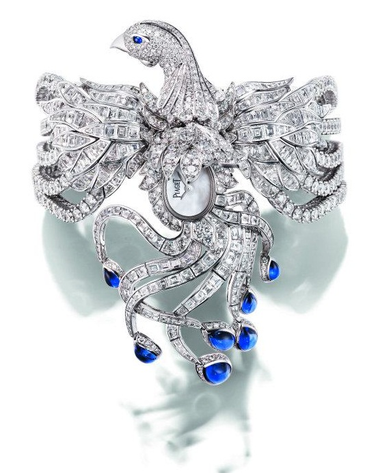 Piaget-phoenix-high-jewellery-secret-watch-2 65 Most Expensive Diamond Watches in the World