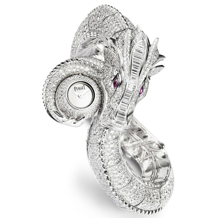 Piaget_Unique_Dragon 65 Most Expensive Diamond Watches in the World